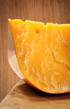 Old gouda cheese Stock Photos