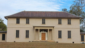 Old Government House, Parramatta, Sydney. Historic government house in Parramatta, Sydney, Australia - built in 1799 - the oldest public building in Australia Stock Photo