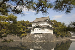 Old governmet castle in Tokyo. An government castle surrounded by a mote in Tokyo Stock Photo