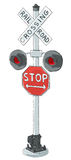 Old Grade crossing signal Stock Photography