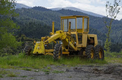 Old grader Royalty Free Stock Photography