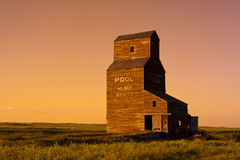 Old Grain Elevator Royalty Free Stock Photo