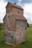 Old Grain Elevator. Rusting away Stock Photo