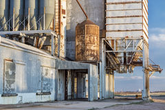 Old grain elevator Royalty Free Stock Image