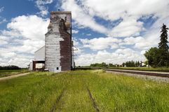 Old Grain Elevator Stock Image