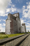 Old Grain Elevator Stock Photo