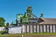 Old grain elevator Stock Photos