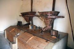 Old grain mill Stock Photo