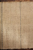 Old grain sacking linen Completely hand made  handwoven and home Royalty Free Stock Photography