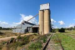 Old Grain silo Royalty Free Stock Image