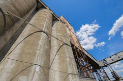 Old grain silo Royalty Free Stock Images
