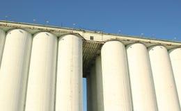Old Grain storage silo. Kiev, Ukraine Stock Image