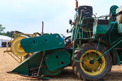 Old grain thresher Royalty Free Stock Photography