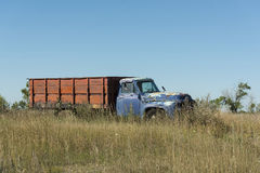 Old Grain Truck Stock Images