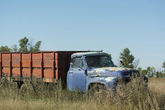 Old Grain Truck Royalty Free Stock Images