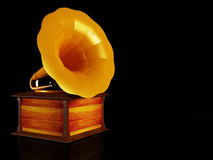 An old gramophone Stock Photos