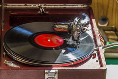 Old gramophone Stock Photography