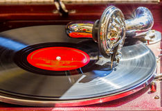 Old gramophone Royalty Free Stock Photos