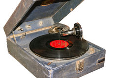 Old gramophone Stock Images
