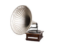 Old gramophone Stock Photo