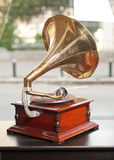 Old gramophone retro image Royalty Free Stock Image