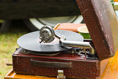The old gramophone Royalty Free Stock Photos