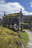 Old Granaries at Lindoso - Portugal Stock Photography