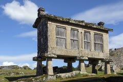 Old Granaries - Lindoso - Portugal Stock Image