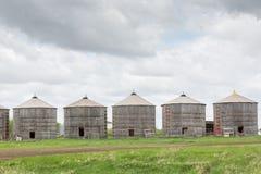 Old granaries Stock Photo
