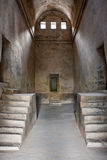 Old Granary Interior. Old granary at Gingee Fort in Tamil Nadu, India Royalty Free Stock Photos