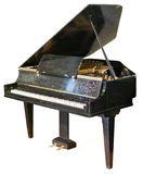 Old grand piano isolated Royalty Free Stock Image