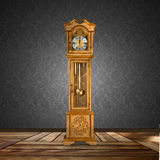 Old grandfather clock Royalty Free Stock Images