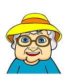 Old grandmother Royalty Free Stock Photos