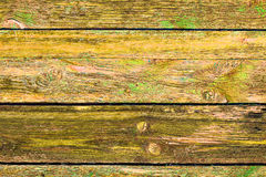 Old Grange colored wooden boards as a background with copy space. Stock Photos
