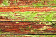 Old Grange colored wooden boards as a background with copy space. Stock Images