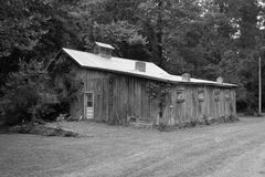 Old Grange Hall Stock Images