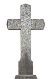 Old granite cross Royalty Free Stock Images
