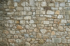 Old granite stone wall texture background