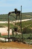Old grape press, Montilla. Stock Image