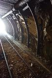 Old graphite mine. In the Cesky Krumlov royalty free stock photography