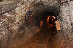 Old graphite mine. In the Cesky Krumlov stock photo