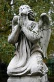 Old grave angel Stock Photography