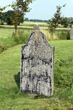 Old grave stone Royalty Free Stock Images