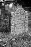 Old grave stone circa 1600 Royalty Free Stock Photo