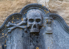 Old Grave Stone Royalty Free Stock Image