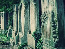 Old graves Royalty Free Stock Image