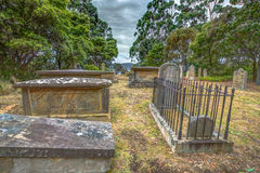 Old graves Royalty Free Stock Images