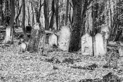 Old graves Stock Photo