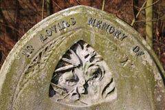 Old gravestone Stock Photo