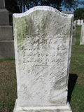 Old Gravestone. In cemetery royalty free stock images